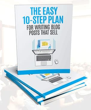 10-step plan for blogs that sell