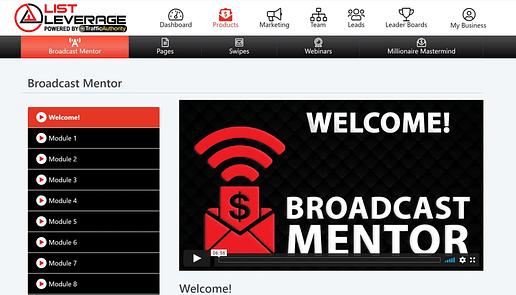 Broadcast Mentor
