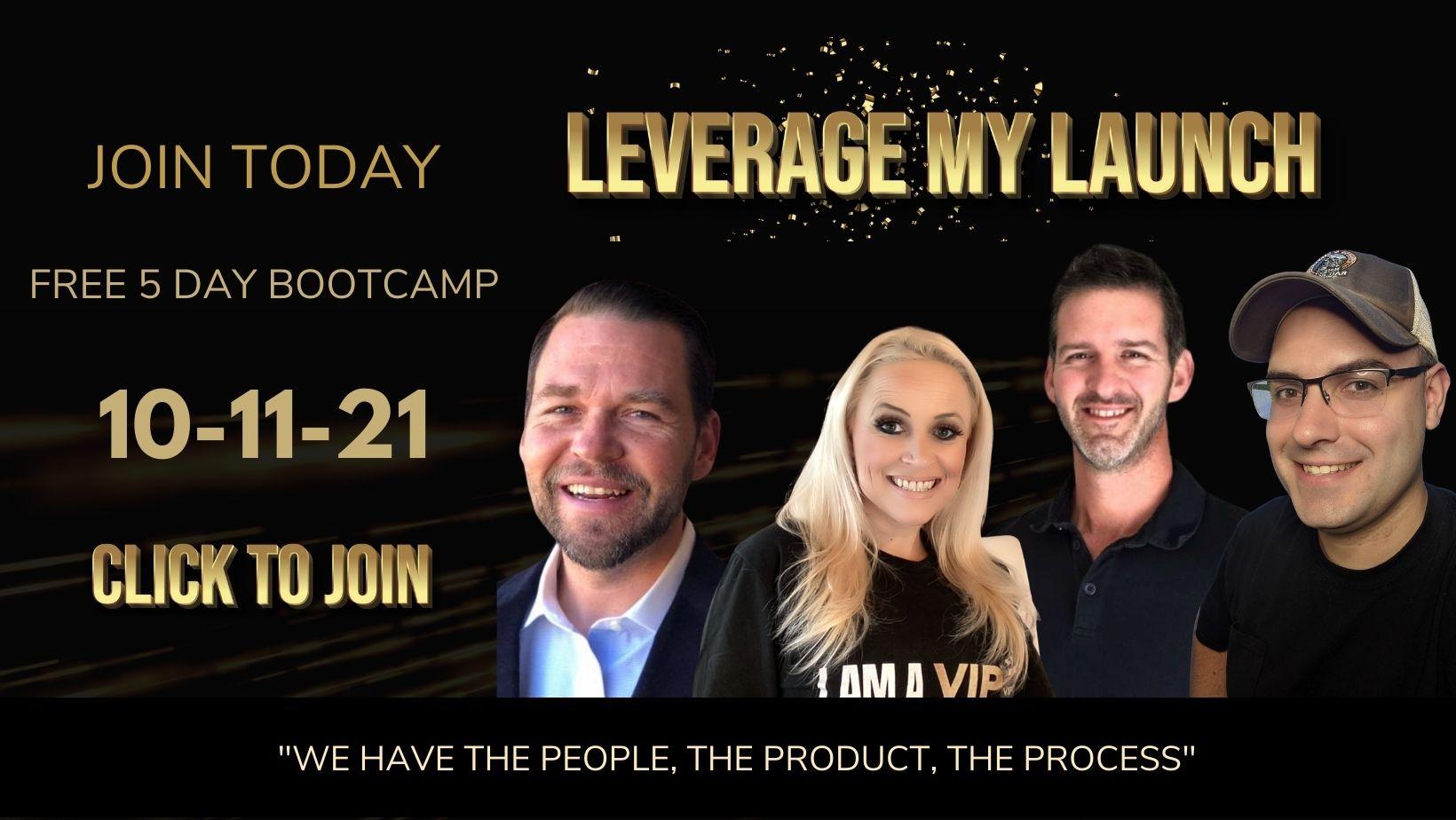 leverage my launch